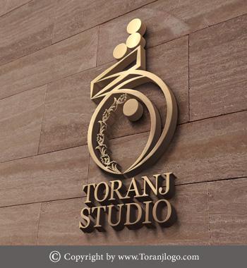 طراحی لوگوی ترنج استودیو
