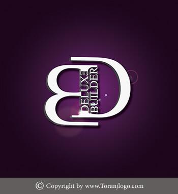 طراحی لوگوی شرکت کانادایی دلوکس بیلدر (Deluxe Builder)