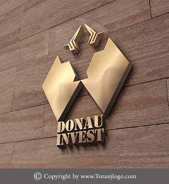 طراحی لوگوی شرکت کارگزاری بورس Donau Invest