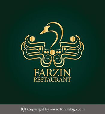 طراحی لوگوی رستوران فرزین (متل قو)