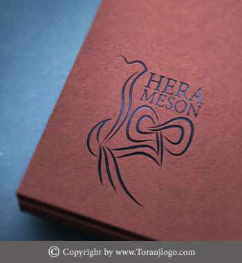 طراحی لوگوی مزون هرا