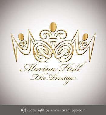 طراحی لوگوی MARINA HALL