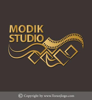 طراحی لوگوی استودیو مودیک