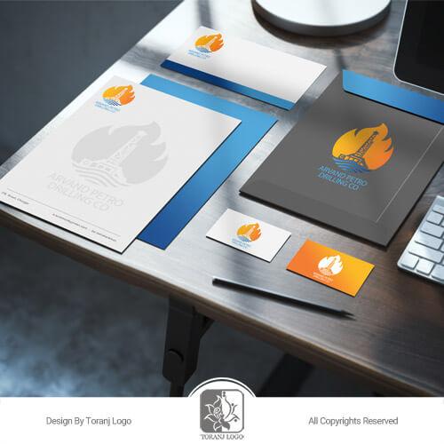 طراحی ست اداری شرکت پترو فراز اروند