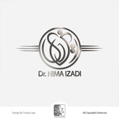 طراحی لوگوی دکتر ایزدی (دندانپزشک)