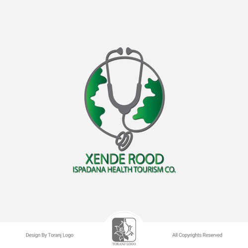 طراحی لوگوی شرکت گردشگری سلامت زنده رود اسپادانا