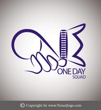 طراحی لوگوی آتلیه One Day