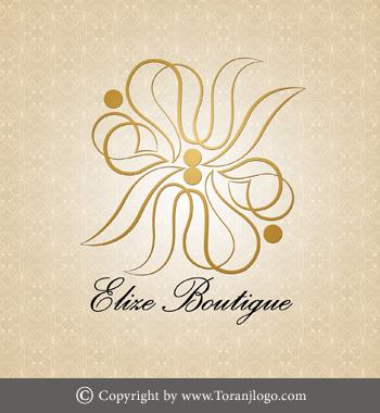 طراحی لوگوی بوتیک الیزه
