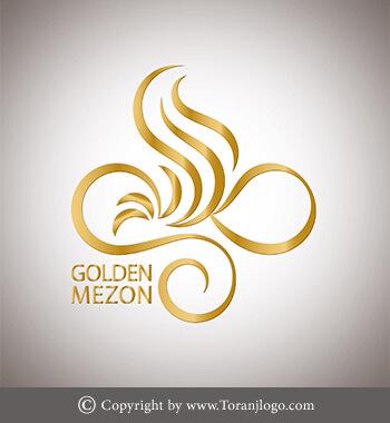 طراحی لوگوی مزون طلایی
